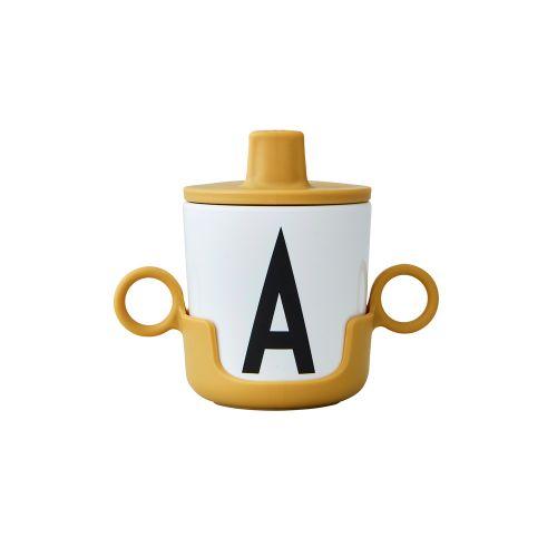Víčko na pití pro melaminový hrneček Mustard