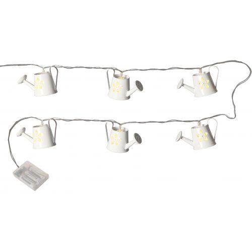 Světelný LED řetěz s konvičkami Tinworks