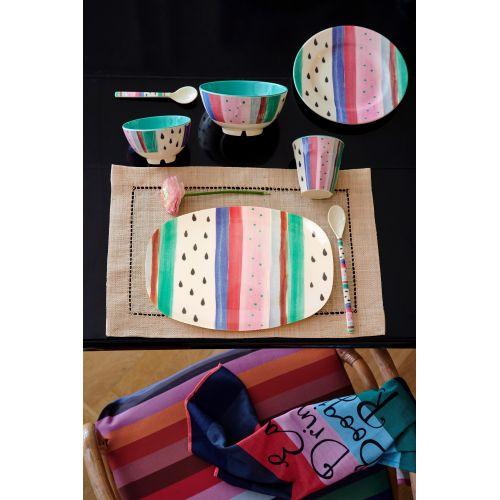 Melaminový talíř Louise's Stripe 20 cm