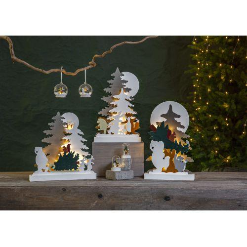 Svítící LED dekorace Forest Friends