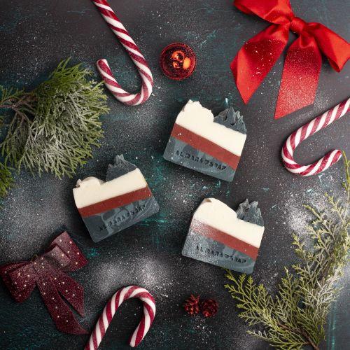 Přírodní mýdlo Merry Christmas