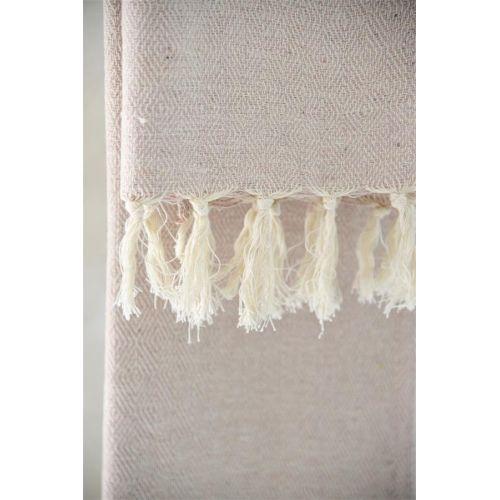 Ručník z recyklované bavlny Cream 50x100 cm