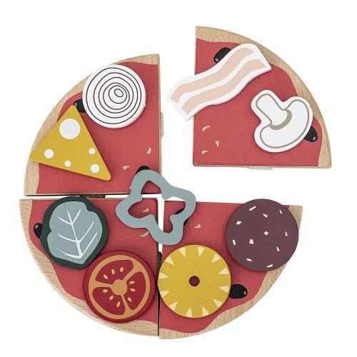Dřevěná hračka - pizza