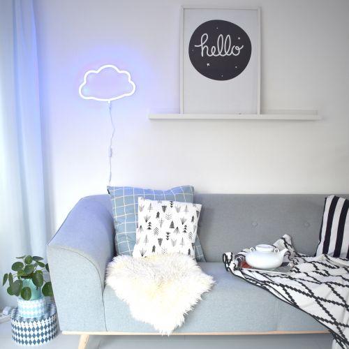 Neonové světlo Cloud Blue