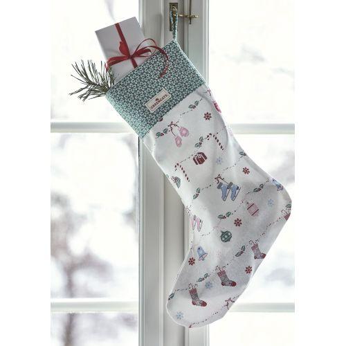 Vánoční punčocha Jinge Bell White