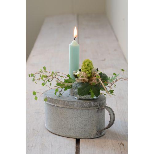 Svíčka Mint green - set 6 ks