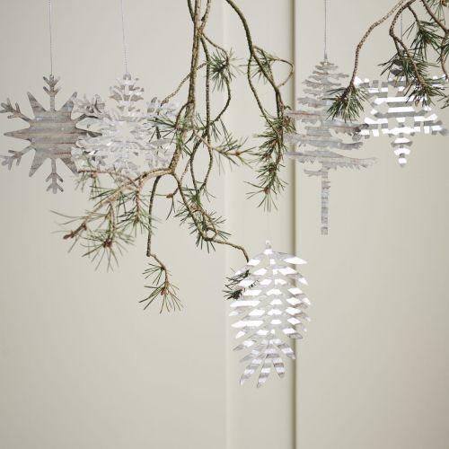 Vánoční ozdoba Silver Crystal