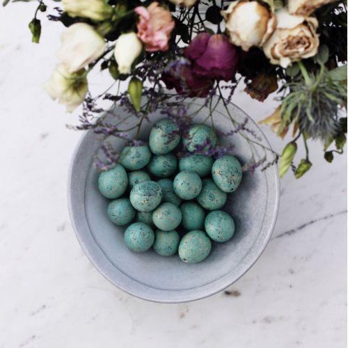 Dekorativní křepelčí vajíčka Mint Green - 20 ks