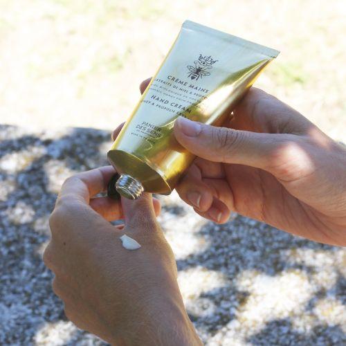 Krém na ruce s mateří kašičkou - med