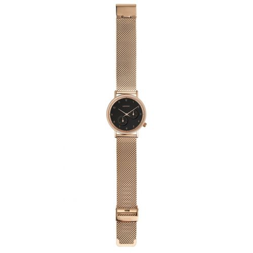 Unisex hodinky Komono Walther Rose Gold Mesh