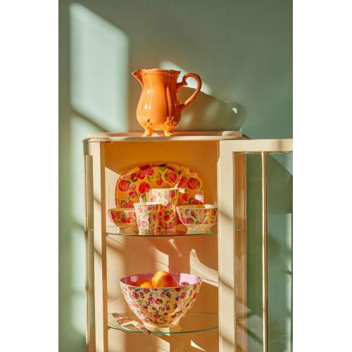 Melaminová miska Peach Print