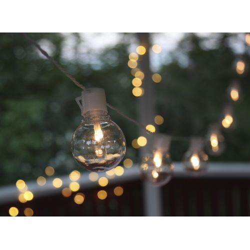 Světelný venkovní LED řetěz White - 16 žárovek