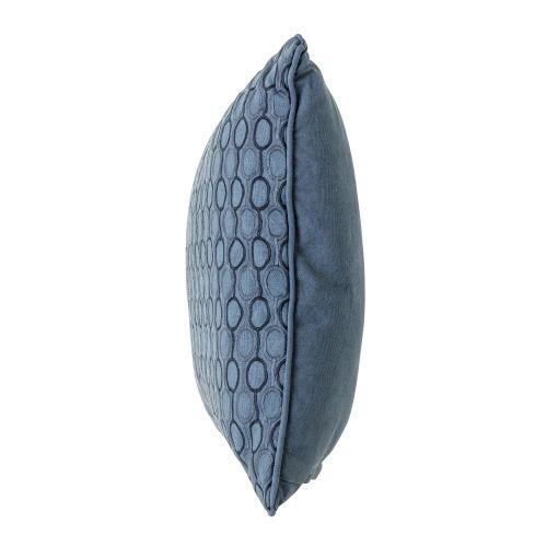 Polštář Blue Wowen circles