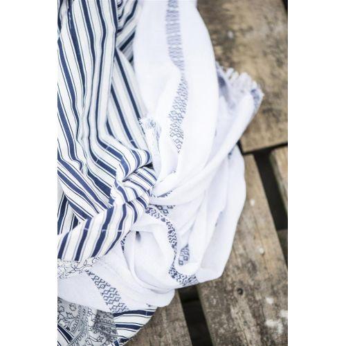 Bavlněný šátek Multi Stripe 100x180cm