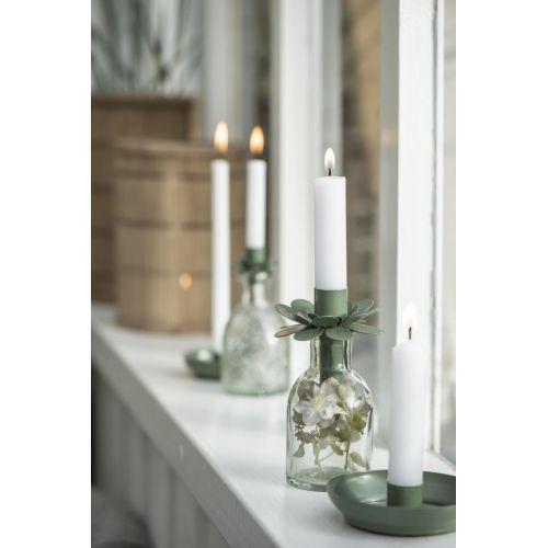 Kovový svícínek Olive Green