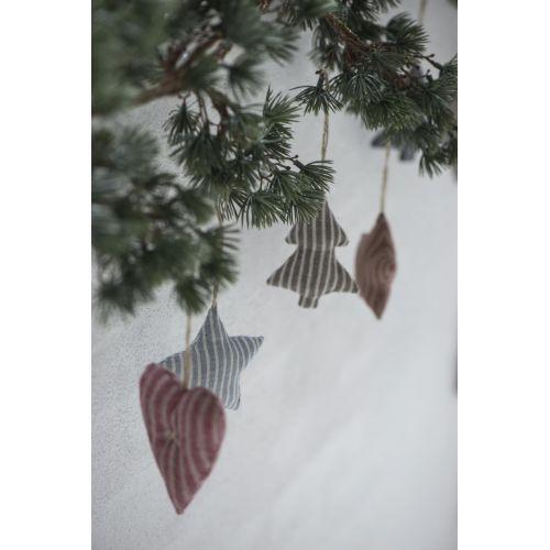 Látkový stromeček My Nostalgic Christmas 9 cm
