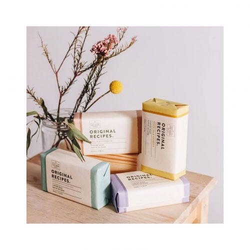Luxusní tuhé mýdlo Bílý čaj a vitamin E - 220g