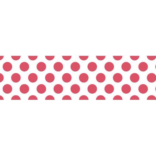 Japonská papírová páska Dot Shocking Red