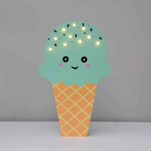 Svítící LED zmrzlina Mint