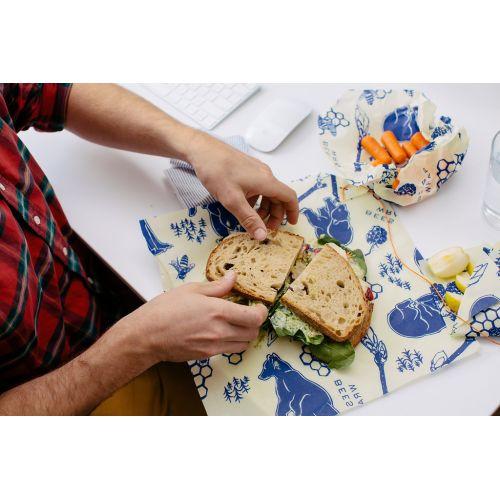 Set ekologických ubrousků Lunchpack-3ks
