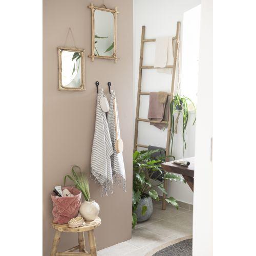 Zrcadlo v bambusovém rámu Bamboo