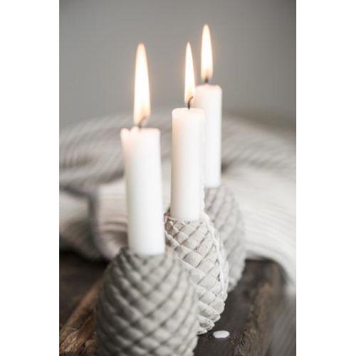 Betonový svícen Christmas Cone
