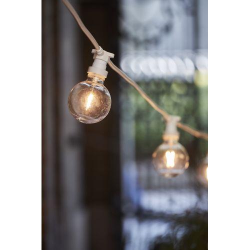 Venkovní světelný řetěz na 10 žárovek White