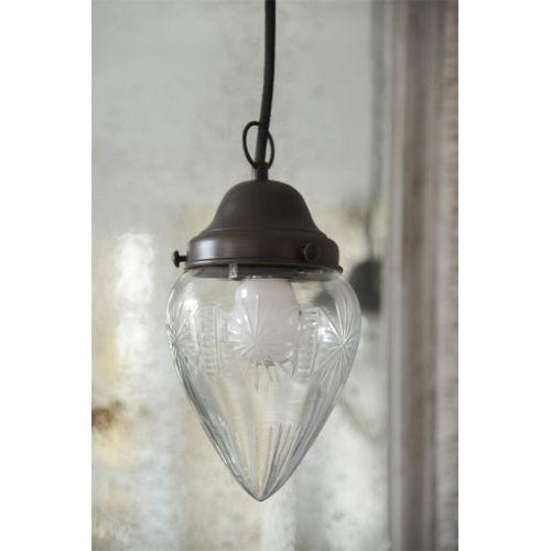 Závěsná lampa Glass Cone