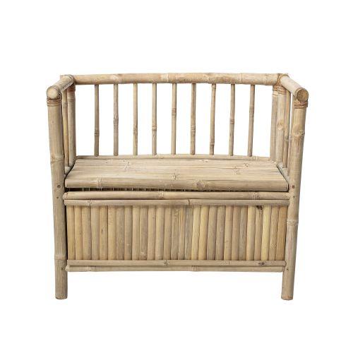Bambusová lavice s úložným prostorem Nature Bamboo