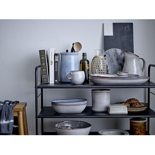 Těstovinový keramický talíř Sandrine Grey