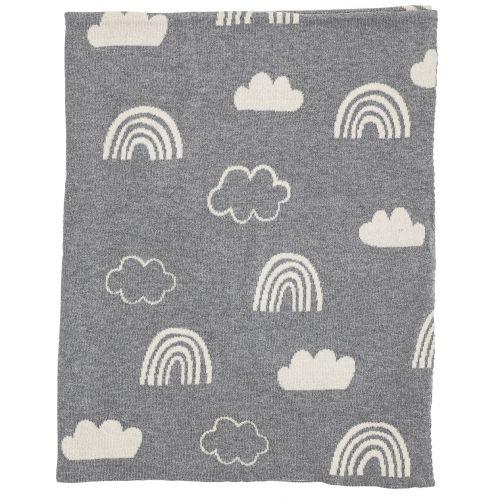 Dětská deka Grey Sky 110x80 cm