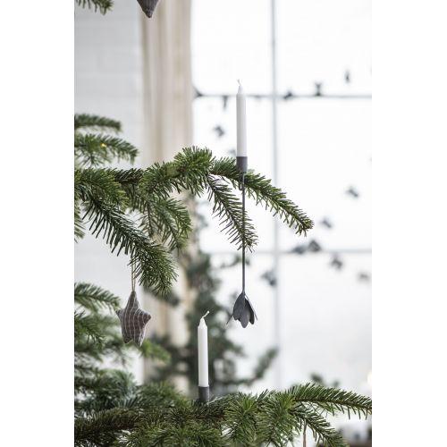 Svícen na vánoční stromeček Zinc