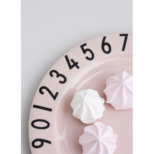 Set dětského nádobí The Numbers Pink