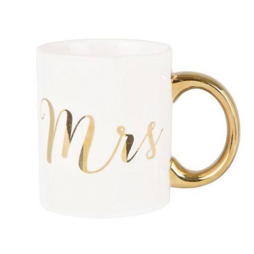 Hrnek Gold Mr & Mrs