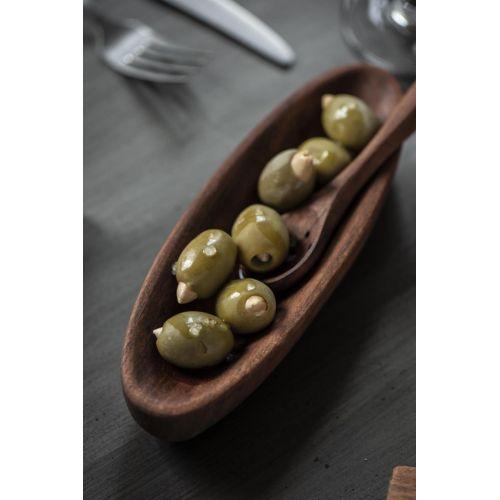 Dřevěná lžička na olivy Acacia Wood