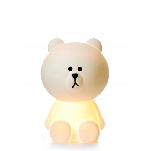 Svítící dětská medvědí LED lampa Bruno XL