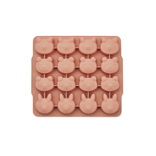 Silikonová forma na led Sonny Yellow/Rose - set 2 ks