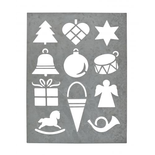 Zinkový arch Christmas