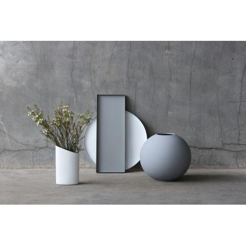 Kulatá váza Ball Grey 30 cm