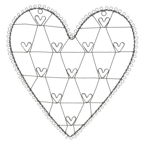 Srdce na vzkazy natural