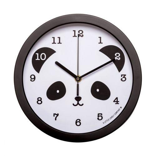 Dětské nástěnné hodiny - Smiling Panda
