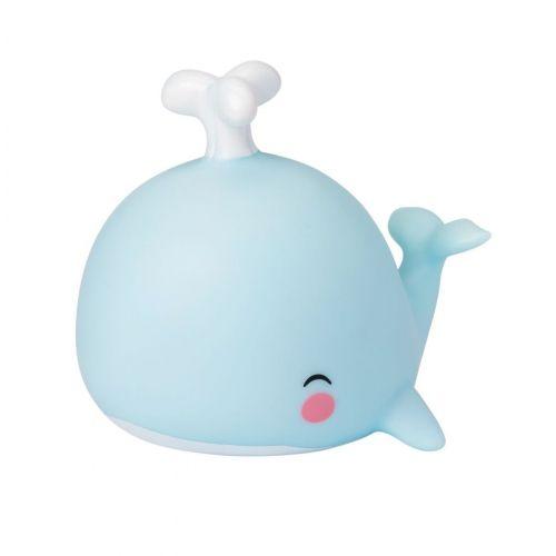 Dětská LED lampička Whale Blue