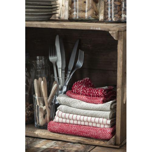 Pletený kuchyňský ručník Mynte Strawberry