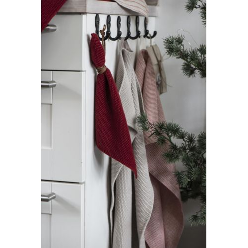Pletený hadřík Mynte Rhododendron