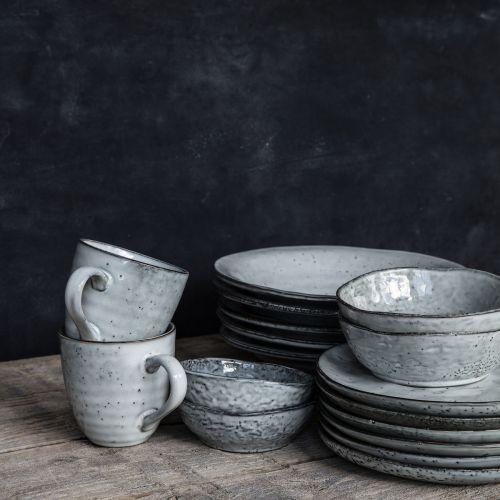 Keramický miska Rustic Grey