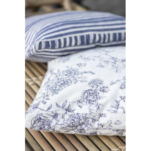 Povlak na polštář Blue Flower 45 x 45 cm