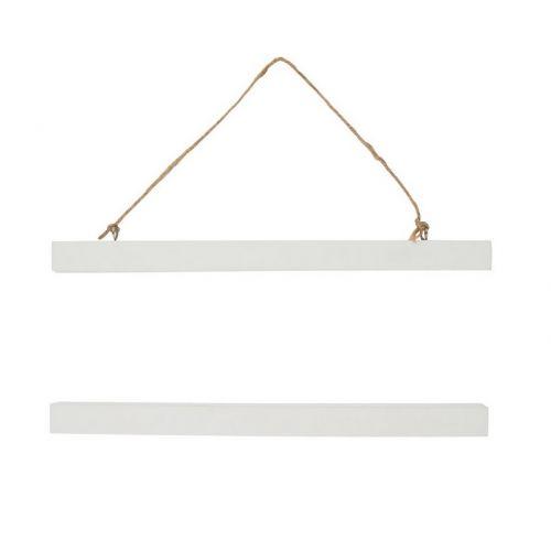 Bílý magnetický rám 31 cm