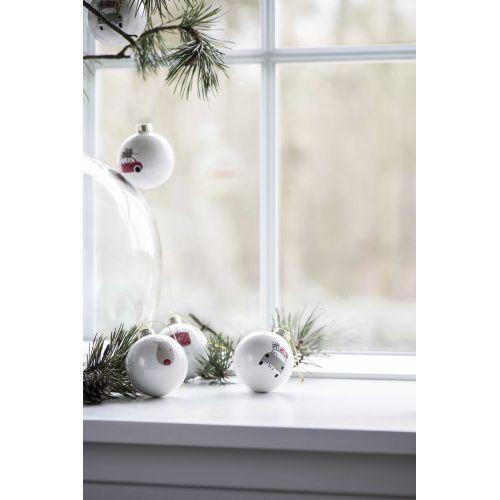 Vánoční baňka Pattern Christmas