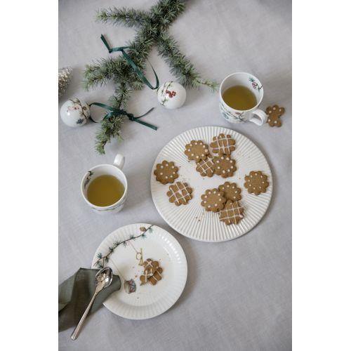 Dezertní talíř Hammershøi Christmas 19 cm