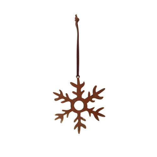 Závěsná dekorace Rust Snowflake